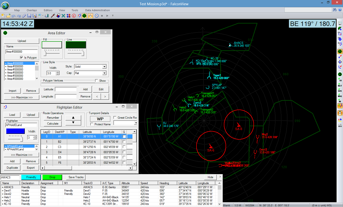 Threat Tactical Simulator Tacdev Military Software